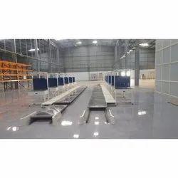 UPS Assembly Pallet Conveyor