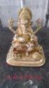 Rajasthan Craft Art Golden (gold Plated) Brass Ganesha