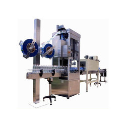 Fully Automatic Shrink Labeling Machine