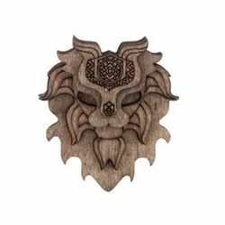 Exquisite Wooden Brooches