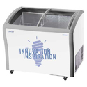 Celfrost Stainless Steel Ikg 400 C Glass Top Deep Freezer