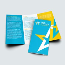 DL A4 Tri Fold Leaflet