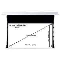 135 Inch Tab Tension Projector Screen