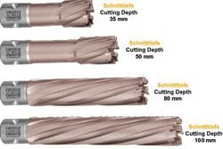 Carbide Tipped Straight Shank Core Drills TCT Xtra Long, Size: 6-8 mm