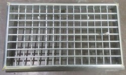 Stainless Steel GP Steel Grill Size. 21X12