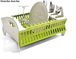 Collapsible Compact Fish Dish Rack  (ITN-728-111).