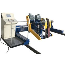 Automatic Flatten Machine For Steel Tank -flatten, Crush & Planishing Treatment Of Welded Seams