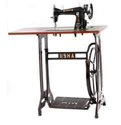Manually Operated Usha SV Tailor Delux Sewing Machine, For Light Material