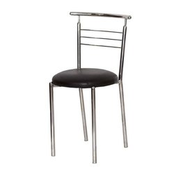 Woodcraft Industries SS Chrome Stainless Steel Dining Chair