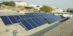 Commercial Rooftop Solar Power Plant