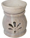 Large Soapstone Oil Burner