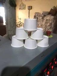 Packet Size: 48 White Paper Cup 100Ml(Katori/Wati)
