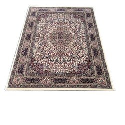 Printed Rectangular Hand Knotted Silk Carpet, Size: 5 X 8 Feet