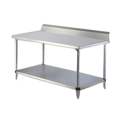 Grey Stainless Steel Work Tables