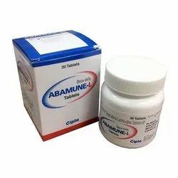 Abamune l ( Abacavir 600 Mg Lamivudine 300 Mg ) Tablets