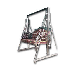 Designer Stainless Steel Jhula