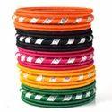Indian Handcraft Fashion Stylish Handmade Silk Thread Bangle