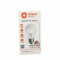 Orient Electric 3 Watt LED Bulb