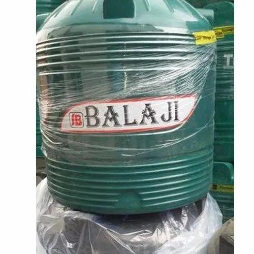 Balaji HDPE Four Layer Water Tank, Capacity: 500 L