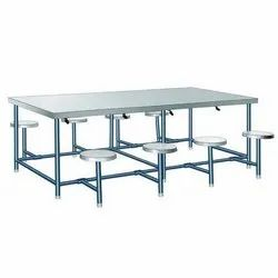 8 Seater Stainless Steel Dining Table