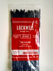 Lockwell Cable Tie 250 x 4.8 Black