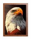 Eagle Print Wedding Card