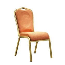 Banquet Furniture - Gold White Stainless Steel Dining Chair