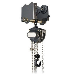 Manual Chain Hoist with Motorized Trolley