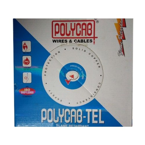 PVC Polycab 1.5 Sqmm Electric Cable, Insulation Thickness: 0.45mm, Nominal Voltage: 240v