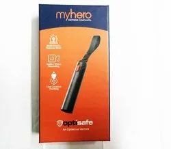 OptiSafe MyHero SOS Emergency Gadget & App your Distress Companion