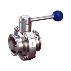 SS Manual Operated TC End Butterfly Valve