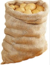 25 Kg, 30 Kg Potato Packaging Hessian Jute Bags