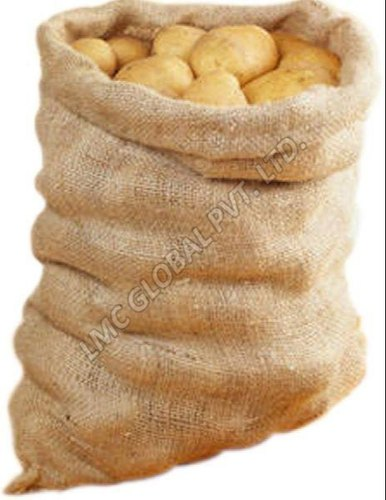 25 Kg, 30 Kg Potato Packaging Hessian Jute Bags