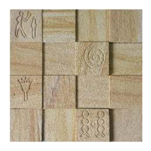 Natural Stone Wall Cladding Tiles, Size: Large (12 inch X 12 inch), Thickness: 5-10 mm
