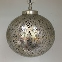 Sultans Ball Lantern German Silver