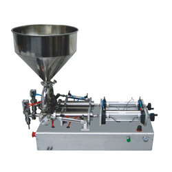 Semi Automatic Double Head Paste Filler