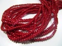 Red Coral Color Beads