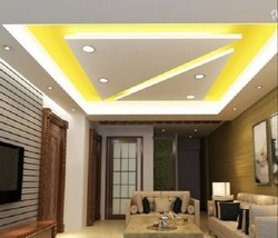 Avadh Interiors Color Coated Gypsum False Ceiling, for Office, Home, Thickness: 12 mm
