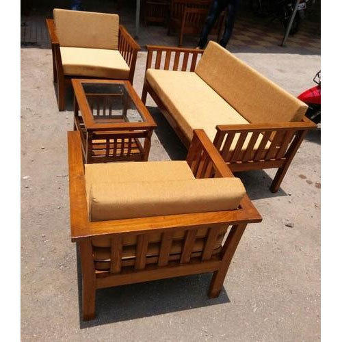 Brown Wooden Sofa Set Rs 26500 Piece