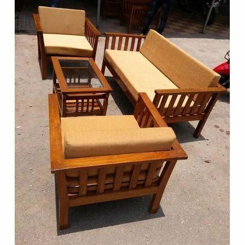 Sofa Set Wooden Sofa Set Manufacturer From Navi Mumbai