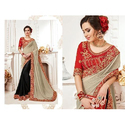 Ladies Embroidered Designer Saree