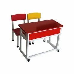 School Chair with Table