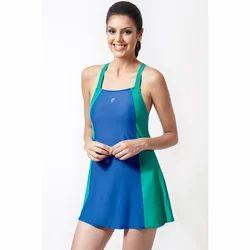 aab8b537dcf Blue And Green Girls Swimming Costume, Rs 995 /piece, Vishwanath ...