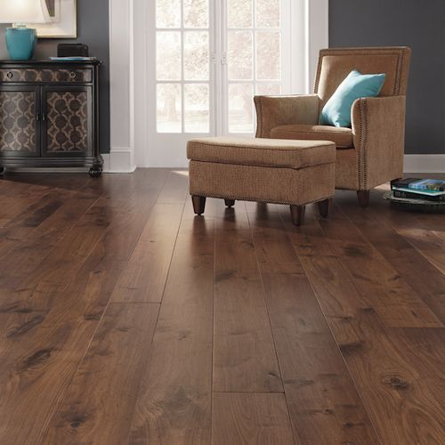 Brown Wooden Flooring