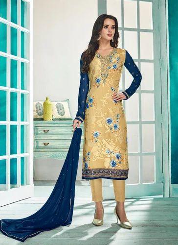 Digital Printed Designer Salwar Suits