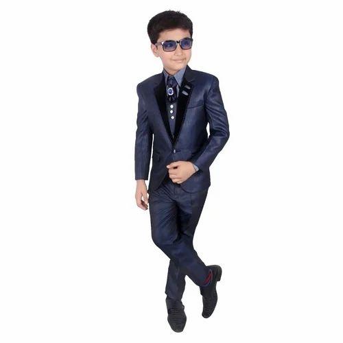 e648b5cac Linen Kids Designer Suit, Rs 400 /piece, Makam Garments | ID ...