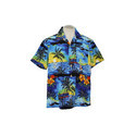 Palm Tree Dark Blue Shirts