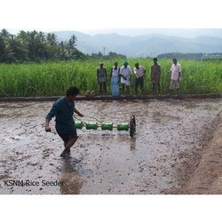 Plastic Rice Drum Seeder