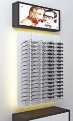 Eye Wear Aluminium Sunglasses Lockable Display Rod Rack