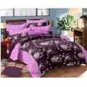 Pure Satin Designer Bed Sheet